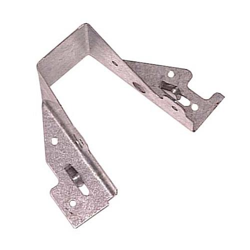 """Étrier en acier galvanisé de 2"""" x 6"""", boîte de 50"""