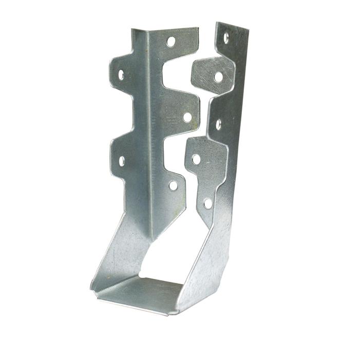 """Étrier en acier galvanisé de 2"""" x 6"""""""