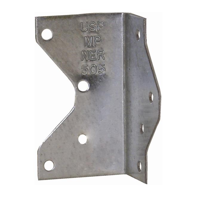 """Ancrage cornière en acier de 1 1/2"""" x 1 7/16"""" x 2 13/16"""""""