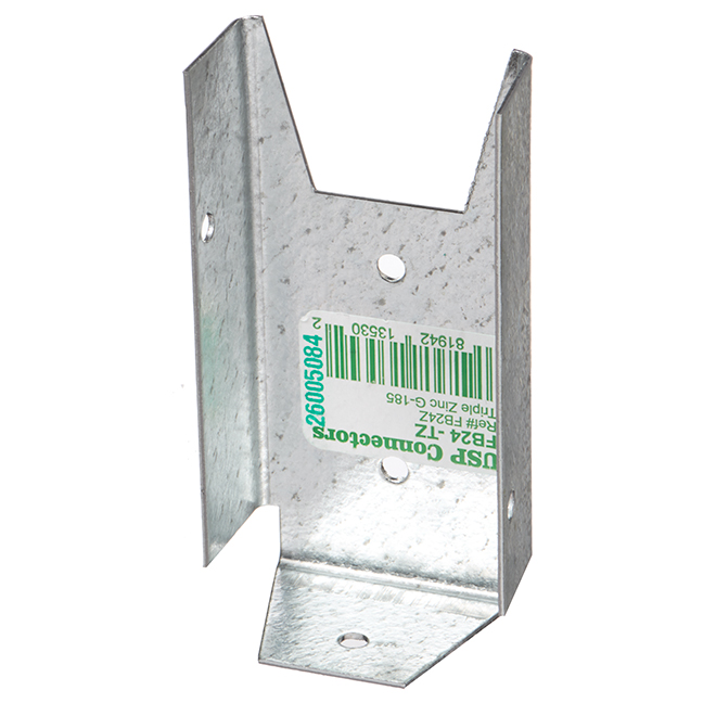 """Supports en acier pour clôture, 2"""" x 4"""", 100/boîte"""