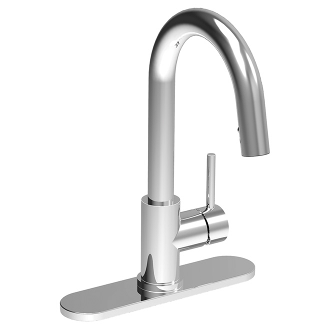 Pure Pull-Down Kitchen Faucet - Chrome