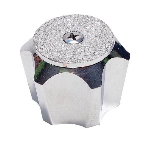Poignée de robinet Jameco 1092 couronnée, chrome