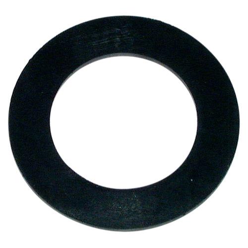 Flat Waste Gasket - Black