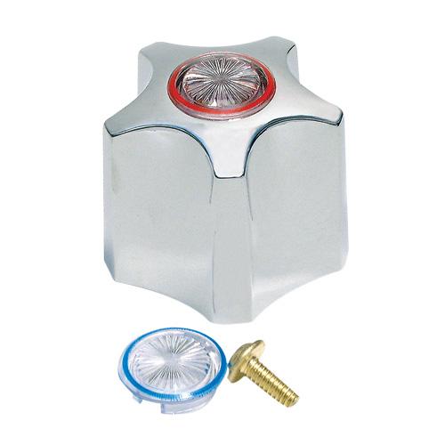 Faucet Handle - Waltec 76540 - Plastic - Chrome