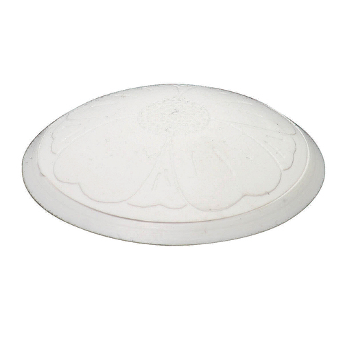 """Bouchon de lavabo, 1 3/8"""", caoutchouc blanc"""