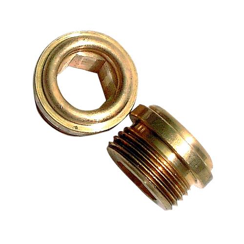 """Siège de robinet Cuthbert 0057A, 9/16""""-24, 2/pqt, laiton"""