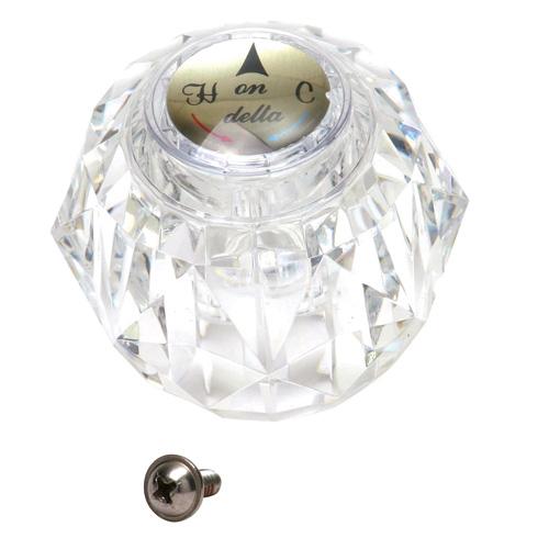 Poignée de robinet Delta RP2389 en plastique, transparent