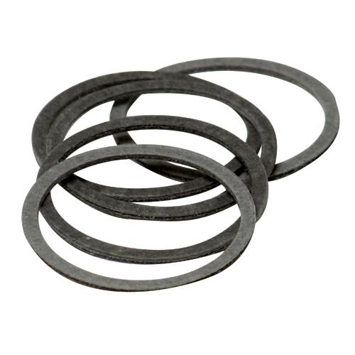 Joint de cartouche Waltec 76100 en fibre, 5/pqt, gris