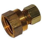 Female brass fitting
