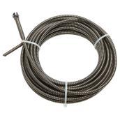 "Câble de dégorgeoir de drain, 5/16"" x 50"""