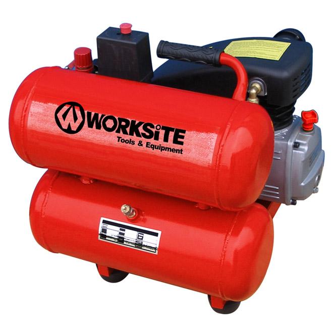 Compresseur à air à 2 réservoirs, 4 gal, 1,5 CV, 125 lb/po²