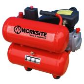 Twin Tank Air Compressor - 4 gal - 1.5 HP - 125 PSI
