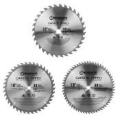 Set of 3 Circular Saw Blades - 10