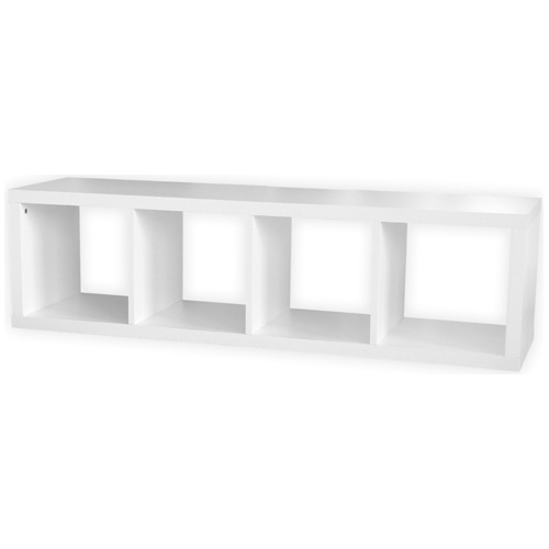 4-cube BOOKCASE - White