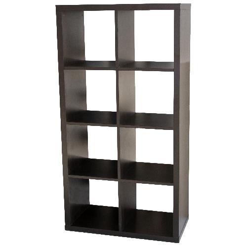 UBERHAUS 8 Cube Bookcase