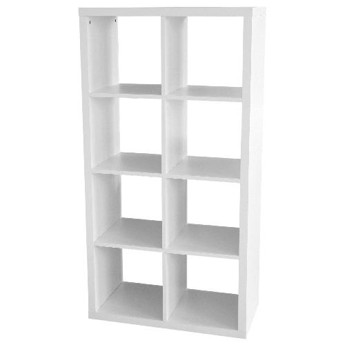 shelving organizer square units bookcases cube wood unit
