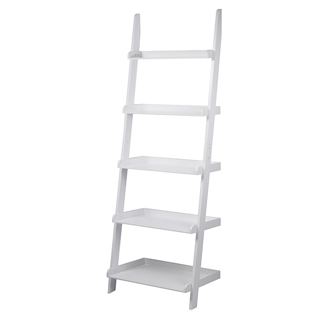 5 Shelves Ladder Bookcase