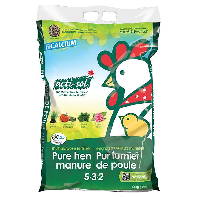 Pure Hen Manure - 10 kg