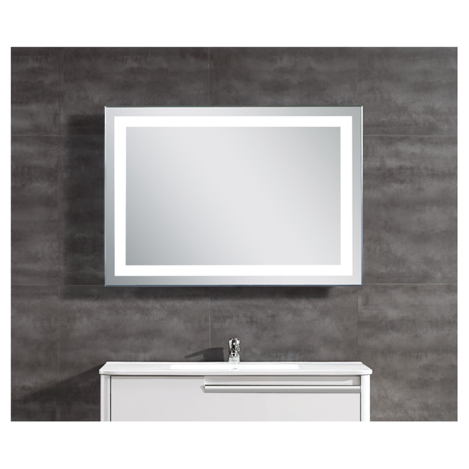 OVE Miroir à éclairage DEL intégré OVETH-34 | RONA