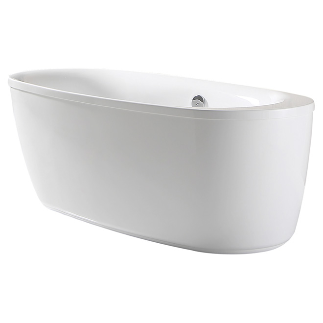 "ove ""leni"" freestanding bathtub leni66in 