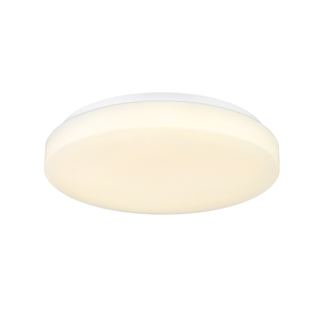 Ove Decors Tika Flush Mount Ceiling Light - LED - 11-in - Frosted Glass