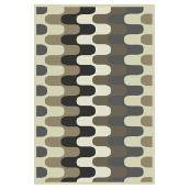 Area Rug - Sialom - Polyester - 5'3