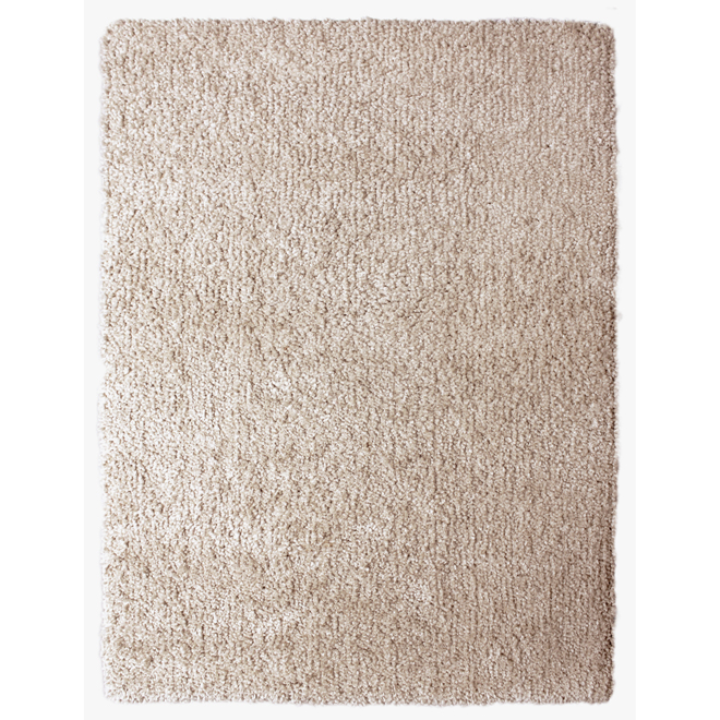 """Tapis Shag « Vienne » 5' 3"""", taupe"""