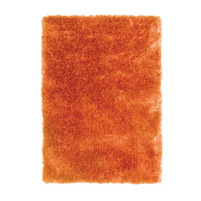 Tapis décoratif « Jazz » de 4x 5pi, orange