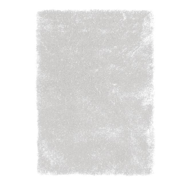 Tapis décoratif « Jazz » de 4 x 5 pi, blanc
