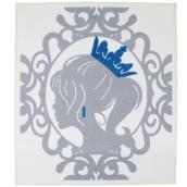Tapis « Princesse », gris/bleu, 3'3