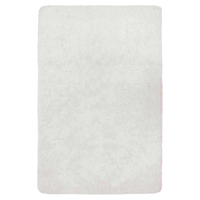Tapis décoratif Monti, 4' x 6', blanc
