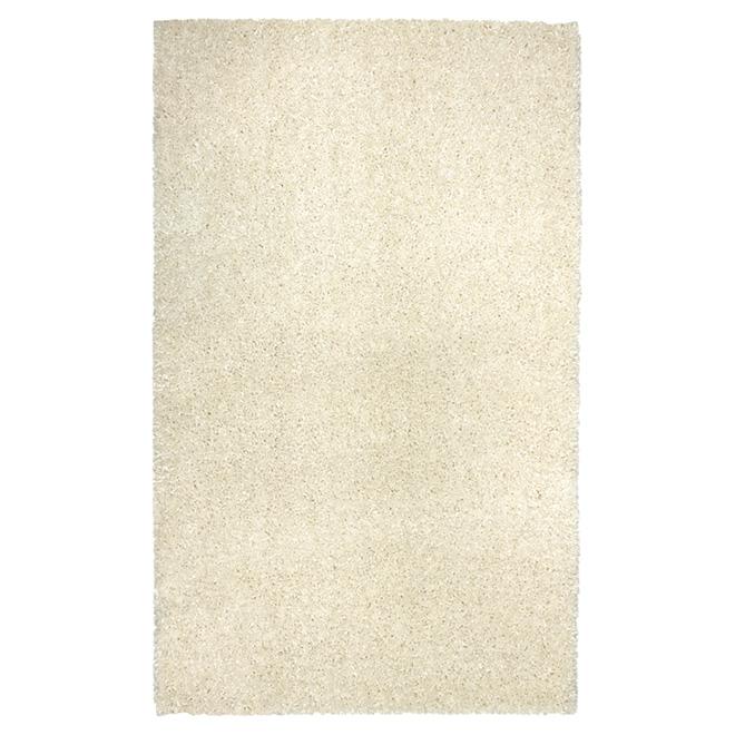 "Tapis de bain Harmonie, 17"" x 24"", blanc"