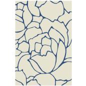 Tapis décoratif Daphne, couleur lin, 5' 3