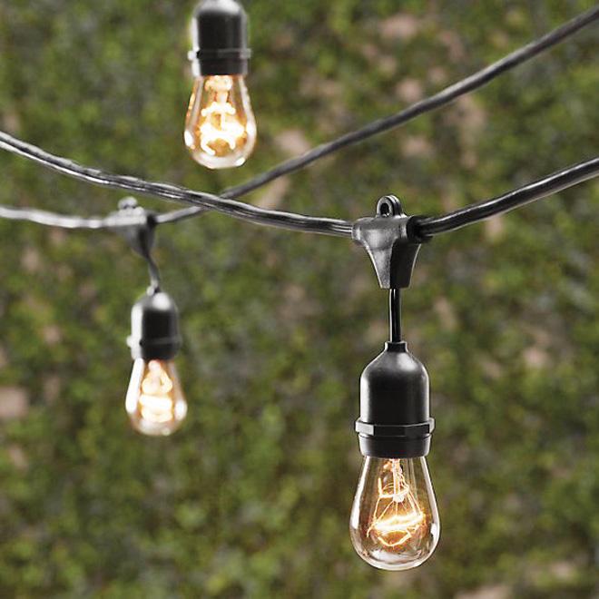 Lumières sur fil