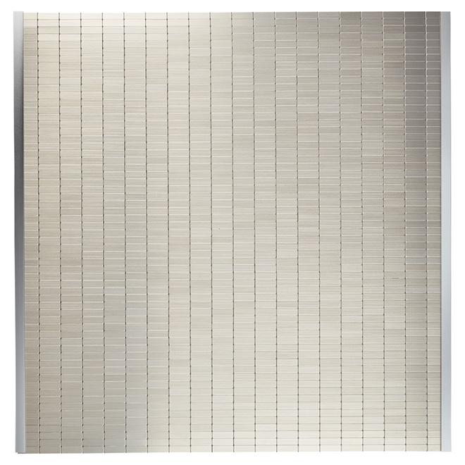 Admirable Speedtiles Self Adhesive Backsplash Tile Urbain Metal Beutiful Home Inspiration Truamahrainfo
