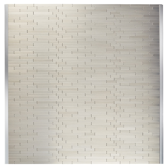 Astounding Speedtiles Self Adhesive Backsplash Tile Linox Metal Beutiful Home Inspiration Truamahrainfo