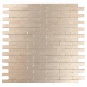 Tuile de métal autoadhésive Bricky LC, cuivre clair