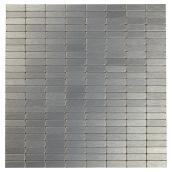 Tuile de métal autoadhésive Urbain DG, gris foncé