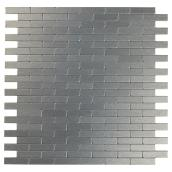 Self-Adhesive Metal Tile - Bricky DG - Dark Grey