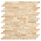Self-Adhesive Stone Tile - Moony - Mixed Stone Color