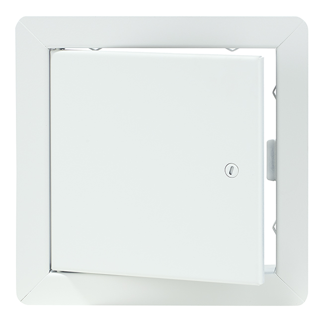 """Porte d'accès à usage universel, AHD, blanc, 8"""" x 8"""""""