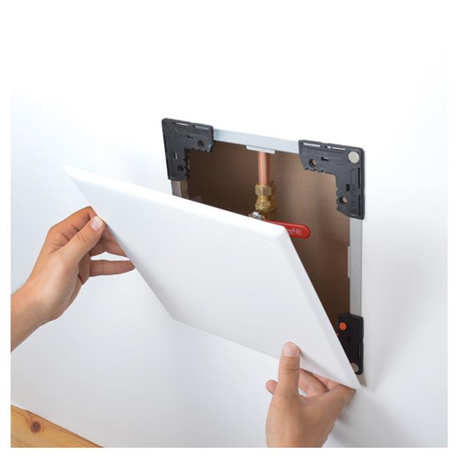 """Porte d'accès ajustable FlexiSnap, blanc, 6 1/2"""" x 8"""""""