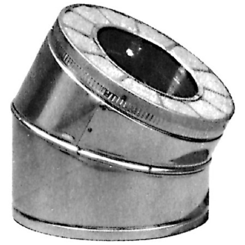 15° Insulated elbow