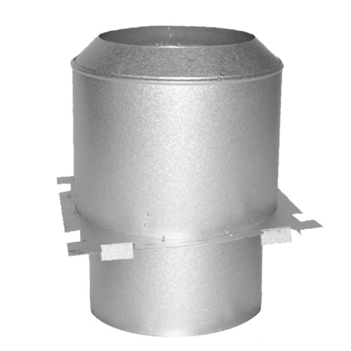 Attic Stainless Steel Shield Firestop 7""