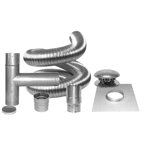 6-in Chimney liner kit
