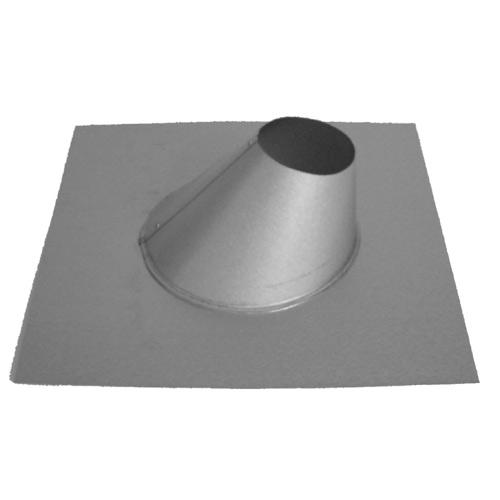 "Adjustable flashing - Stainless steel - 4"""