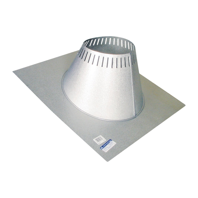 "Vented Flashing Kit - 0/12 to 6/12 for 7"" Chimney"