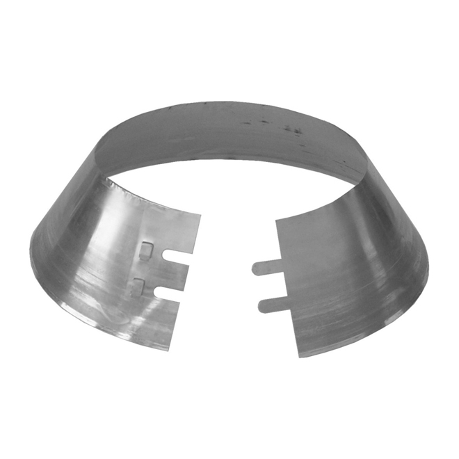 "Storm Collar - Stainless Steel - For 7"" Chimney"