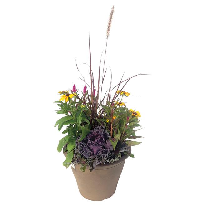 Arrangement floral d'automne, 13''