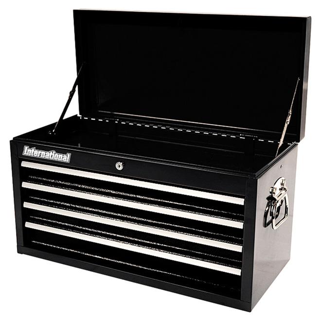 Coffre à outils à 4 tiroirs en métal